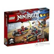 LEGO® Ninjago Ninja cu motocicleta 70600