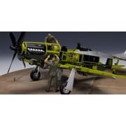 Super Ala Serie SWS-04F04 - Model Kit serbatoio olio cambio Set per P-51D