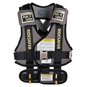 RideSafer Type 3 GEN3 Travel Vest - Gray/Black - Large