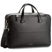 Laptoptáska CALVIN KLEIN BLACK LABEL - Icon Laptop Bag Extra K50K502032 001