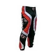 Kalhoty WIND GP2 červené MX ENDURO CROSS