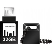 Strontium 32GB NITRO ON-THE-GO (OTG) USB 3.0 FLASH DRIVE 32 GB OTG Drive(Black, Type A to Micro USB)