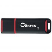Memorie USB Akyta Kyoto Line 16GB USB 2.0 Black Red