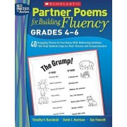 Partner Poems for Building Fluency: Grades 4-6 by Timothy V Rasinski