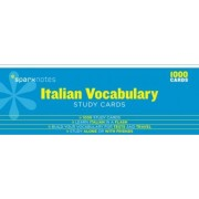 Italian Vocabulary SparkNotes Study Cards by Sparknotes