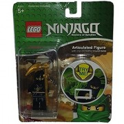 Rare Lego Ninjago COLE Articulated Figure with Clip-on Battle Sound Base