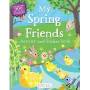 My Spring Friends Activity and Sticker Book