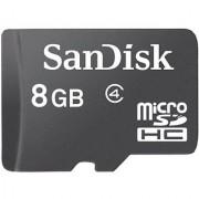 SanDisk 8GB microSDHC Flash Memory Card SDSDQ-008G