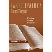 Participatory Biblical Exegesis: A Theology of Biblical Interpretation