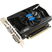 Msi nVIDIA GeForce GT 740 Scheda Video, PCI Express x16 3.0, 2GB GDDR5, Nero/Antracite
