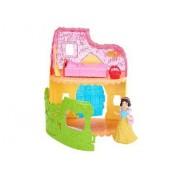 Mattel Disney Princess - Mini Poupée Blanche Neige Magiclip Et Maison