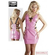 Rochie Latex Look Pink