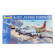 Revell 04283 - B-17G Flying Fortress Kit di Modello in Plastica, Scala 1:72