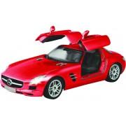 Racetin Mercedes Benz SLS AMG - RC Auto - 1:16 - Rood