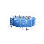 Bestway Metal Frame Pool Komplett Set 549x122 56462