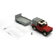 Britains Land Rover And General Purpose Trailer Set