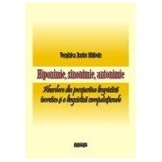 Hiponimie, sinonimie, antonimie. Abordare din perspectiva lingvisticii teoretice si a lingvisticii computationale.