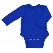 Body din bumbac organic cu extensie inclusă - iPlay - Royal Blue, 0-3 luni