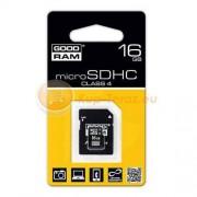 Goodram Karta pamięci Goodram micro SDHC 16 GB + adapter