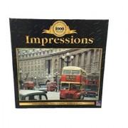 Impressions 100 Piece JigSaw Puzzle Double Decker Bus Buses