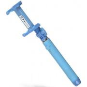 KitVision Selfie stick KitVision KVPKBTSSBL cu suport de telefon, conectare prin Bluetooth, declansator pe maner (Albastru) (KVPKBTSSBL)
