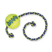 Air Squeaker Tennis Ball met touw
