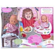 Famosa 700012387 - Bambola Nenuco Mangia con Me