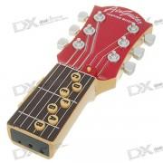 10-Music Air Guitar - Rojo + Negro (2 * AAA)