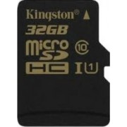 Card memorie Kingston MicroSDHC 32GB Clasa 10 UHS-I 45MBps