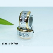 Обеци Danieli изработени от медицинска стомана 316L (DCE12339)