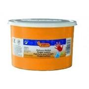 Prstové barvy JOVI 500ml oranžová