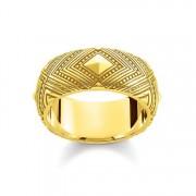 Thomas Sabo Ring gelbgoldfarben TR2127-413-39-56