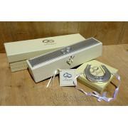 Cadou de nunta potcoava si suport certificat pentru miri
