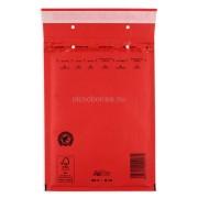 Színes Légpárnás (buborékos) Boríték, Tasak D/14 PIROS belméret: 180x265 mm külméret: 200x275 mm