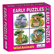 Creativo educativo creativo primi anni Puzzle Wild Animals Gioco