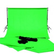 Complete green screen studio kit inclusief draagtas