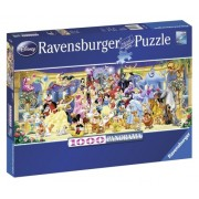 Ravensburger puzzle personajele disney, 1000 piese