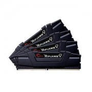Kit Quad Channel 4 barrettes de RAM DDR4 PC4-27700 F4-3466C16Q-16GVK (garantie 10 ans par G.Skill)