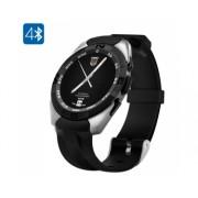 Pré-commande NO.1 G5 montre Smart Watch - Bluetooth 4.0, Smartphone Sync, capteur de fréquence cardiaque, podomètre, Sommeil Monitor (Argent)