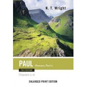 Paul for Everyone, Romans Part 2 (Enlarged Print) by Fellow and Chaplain N T Wright