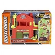 Matchbox Cliff Hangers Fire Station Play Set