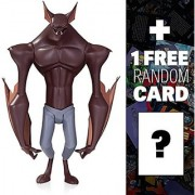 Man-Bat: ~6.75 DC Collectibles Batman The Animated Series Action Figure + 1 FREE Official DC Trading Card Bundle (26443)
