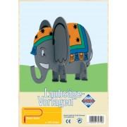 Pebaro - Kit per traforo con disegno di elefante