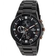 Casio Quartz Black Round Men Watch EX230
