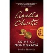 AGATHA CHRISTIE.CRIME CU MONOGRAMA