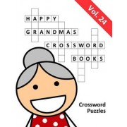 Happy Grandma's Crossword Books by Happy Grandma's Puzzle Books