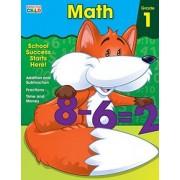 Math Workbook, Grade 1 by Brighter Child