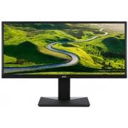 "Monitor VA LED Acer 35"" CB351Cbmidphzx, UW-UXGA (2560 x 1080), DVI, HDMI, DiplayPort, 10 ms, Boxe (Negru) + Bitdefender Antivirus Plus 2017, 1 PC, 1 an, Licenta noua, Scratch Card"