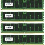 Kit Memorie Server Crucial ECC RDIMM 4x16GB DDR4 2400MHz CL17 Dual Rank x4 Quad Channel