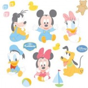 Dinsey Baby Mickey and Friends Wall Graphic